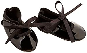 "Unique Doll Clothing Black Tap Doll Dance Shoes for American Girl Dolls and 18"" Doll"