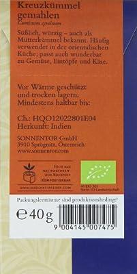 Sonnentor Kreuzkümmel gemahlen, 1er Pack (1 x 40 g) - Bio von Sonnentor auf Gewürze Shop