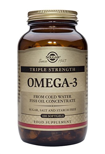 Solgar, Triple Strength Omega-3 950 mg, 100 Softgels by Solgar (Omega 3 950 Mg Solgar compare prices)