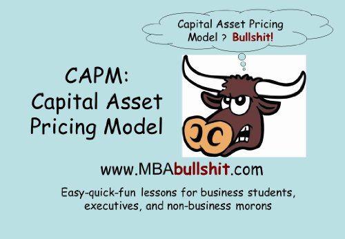 CAPM Capital Asset Pricing Model - Lecture Notes (BETTER THAN Your Textbook CHEAT-SHEET Series) (Capital Asset Pricing Model compare prices)