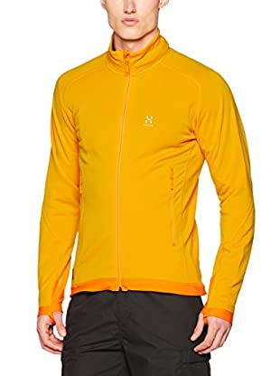 Haglöfs Forro Polar Mid Layer Stretch (Naranja Claro)