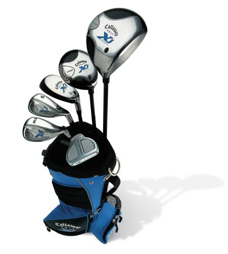 Callaway XJ Junior 7-Piece Boy's Golf Club Set (5-8 years old, Left Hand)