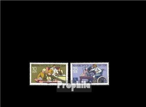 Briefmarken für Sammler: DDR 2431-2432 postfrisch 1979 Schwerbehinderte