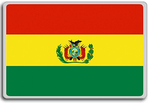 Armed Forces Flag (Until 2010) Historic Flag Of Bolivia fridge magnet (Bolivia Refrigerator compare prices)