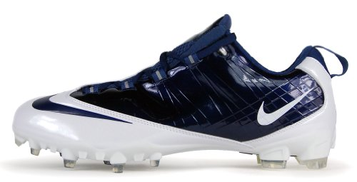 Nike Zoom Vapor Carbon Fly Td Football Cleats White/Navy Blue