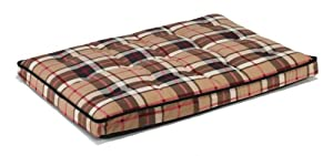 "Bowsers Luxury Dog Crate Mattress, Kensington Plaid, MED 21""x30""x3"" from Bowsers"