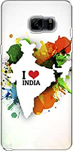 The Racoon Grip I Love India hard plastic printed back case/cover for Samsung Galaxy Note 7