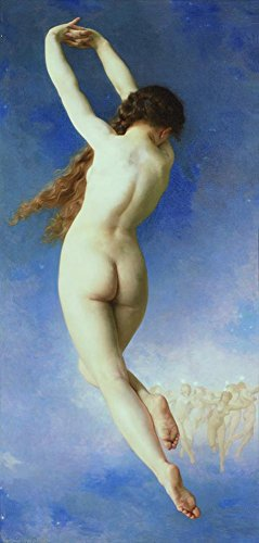 [Perfect Effect Canvas ,the High Resolution Art Decorative Canvas Prints Of Oil Painting 'William-Adolphe Bouguereau-Lost Pleiad,1884', 10x21 Inch / 25x53 Cm Is Best For Dining Room Decoration And Home Artwork And] (Theatre Costume Closet)