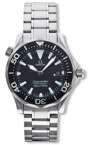 Omega Men's 2262.50.00 Seamaster 300M Quartz Watch