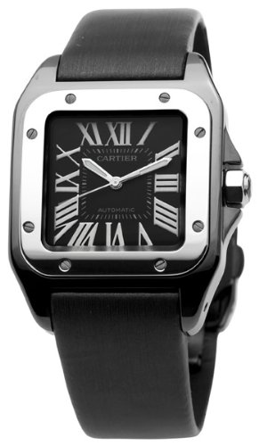 Cartier Men's W2020008 Santos 100 Medium Watch