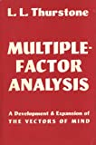 img - for Multiple-Factor Analysis: A Development & Expansion of The Vectors of Mind book / textbook / text book