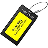 Luggage Tags Business Card Holder TUFFTAAG Xmas Travel ID Tag in 8 Color Options