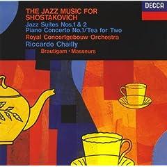 シャイー指揮 ショスタコーヴィチ:ジャズ音楽集の商品写真