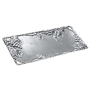 Arthur Court Grapevine 19-Inch Oblong Tray