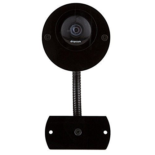 Nest Cam & Dropcam Pro Complete Outdoor Mounting Set - includes both Weatherproof Camera Case & Gooseneck Mount Bundle in Black - 100% Night Vision & Flexible 360° Degrees Angle Positioning (Dropcam Pro Outdoor compare prices)
