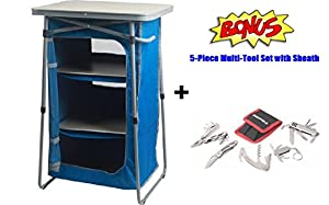 Amazon Com Camp Kitchen Table Collapsile Cook Station