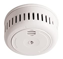 Long Life Miniature Optical Smoke Alarm with 10 Year Lithium Battery by Firehawk