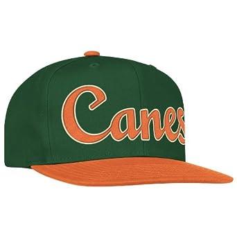 ncaa miami hurricanes logo snapback hat one