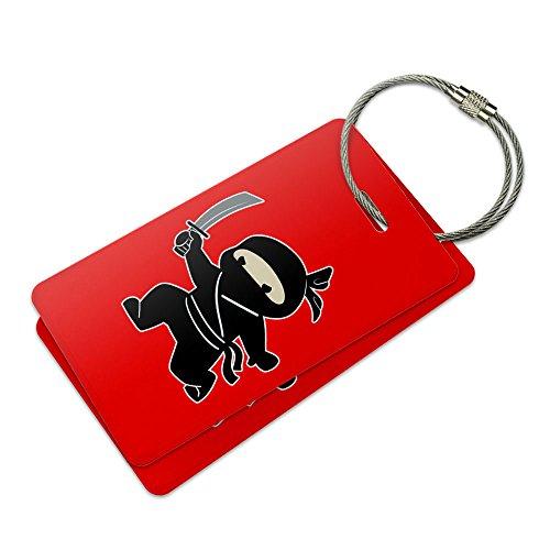 Sneaky Ninja Attacks Suitcase Bag ID Luggage Tag Set (Sneaky Ninja compare prices)