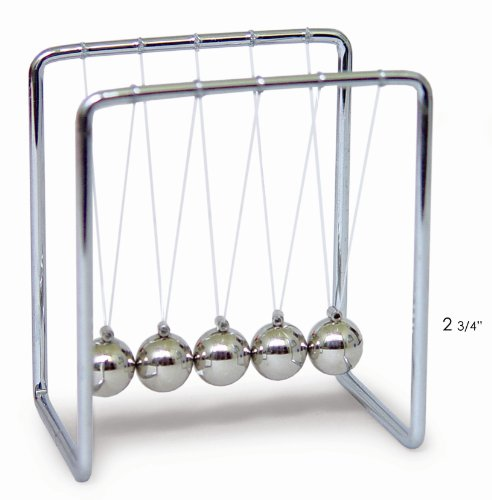 Newton's Cradle with Metal