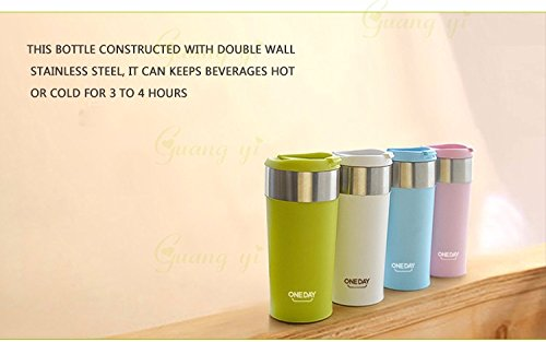 Rabbit malls,Stainless Steel Coffee Mug Vacuum Flasks & thermoses Tea Heating COFFEE MUG Drinkware Flasks Thermocup Termos Tumbler Termico by Rabbit Malls. (American Made Coffee To Go Mug compare prices)
