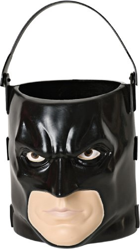 Batman: The Dark Knight Rises: Batman 3D Trick-or-Treat Pail (Black)