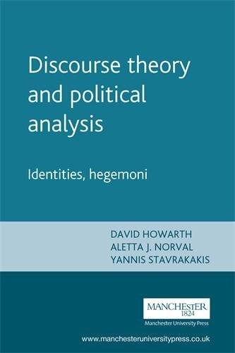 Discourse theory and political analysis: Identities, hegemoni PDF