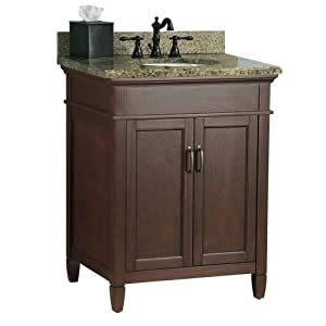 foremost asgaqd2522 ashburn 25 inch x 22 inch vanity with