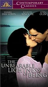 The Unbearable Lightness of Being [VHS]