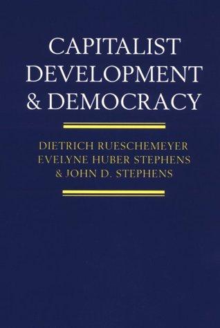 Capitalist Development and Democracy