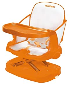 Momma Up 'N Down Booster Chair, Orange
