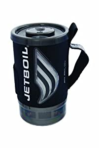 Jetboil 1.0 Liter FluxRing Flash Companion Cup with Heat Indicating Cozy (Carbon)