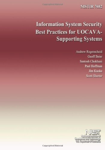 Information System Security Best Practices For Uocava- Supporting Systems front-178453