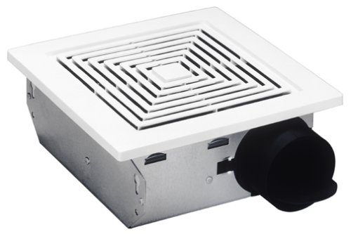 Broan Model 688 Ventilation Fan, 50 CFM 4.0 Sones, White Grille (Door Exhaust Fan compare prices)