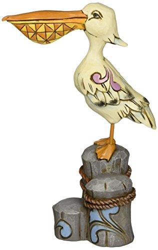 Jim Shore for Enesco Heartwood Creek Pelican Figurine, 6.25