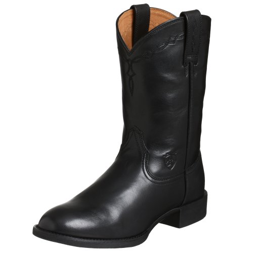 Ariat Men's Heritage Roper Boot,Black,12 M US