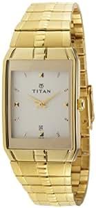 Titan Karishma Analog Gold-Color Dial Men's Watch - NE9151YM01J
