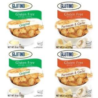 Glutino Gluten Free Bagel Chips Orignal (4 Pack)