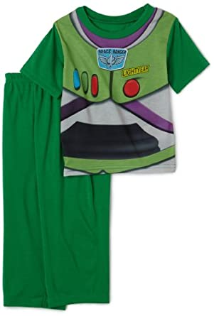 Disney Toy Story and Beyond Pajama Set, 2 Piece, Green, 12 Months
