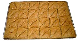 Baklava with Walnuts and Honey, TRAY, 48 Triangles