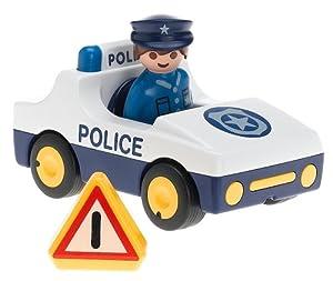 Amazon.com: Playmobil 1.2.3 Police Car: Toys & Games