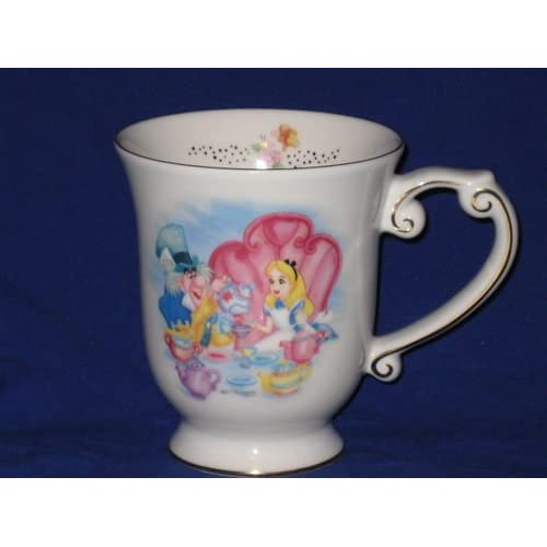 Amazon.com: DISNEY ALICE IN WONDERLAND CHINA TEA CUP COFFEE CUP/MUG