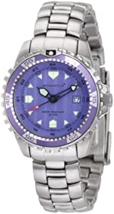 Momentum Women's 1M-DV01P0 M1 Purple Dial Dial Stainless-Steel Bracelet Watch