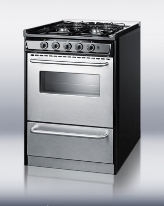 TNM61027BFRWY-Professional-24-Gas-Range-With-Four-Sealed-9000-BTU-Burners-Oven-Window-Drop-Down