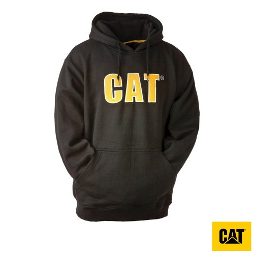 Caterpillar Thermal Lined Mens Hooded Sweatshirt