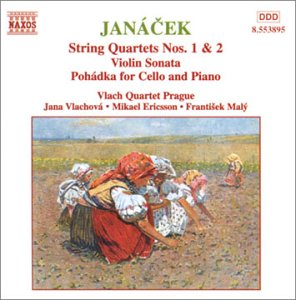 Janacek:string Quartets.violin