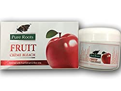 Pure Roots Herbal Creme Bleach 42gm(Creme 35g + Activator 7g) - Pack of 2 (Fruit)