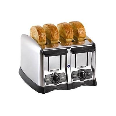 Hamilton Beach 24850 Proctor-Silex Pop-Up Toaster, 4 slot, Smart Bagel function by Hamilton Beach