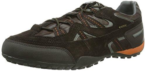 Geox UOMO SNAKE, Sneaker Uomo, Marrone (Braun (COFFEE/RUSTC0892), 46