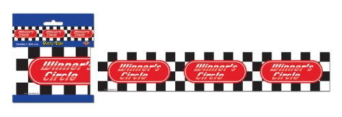 Winners Circle Party Tape Party Accessory (1 count) (1/Pkg)